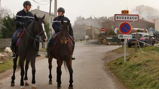 bugarash french police ready for end of world